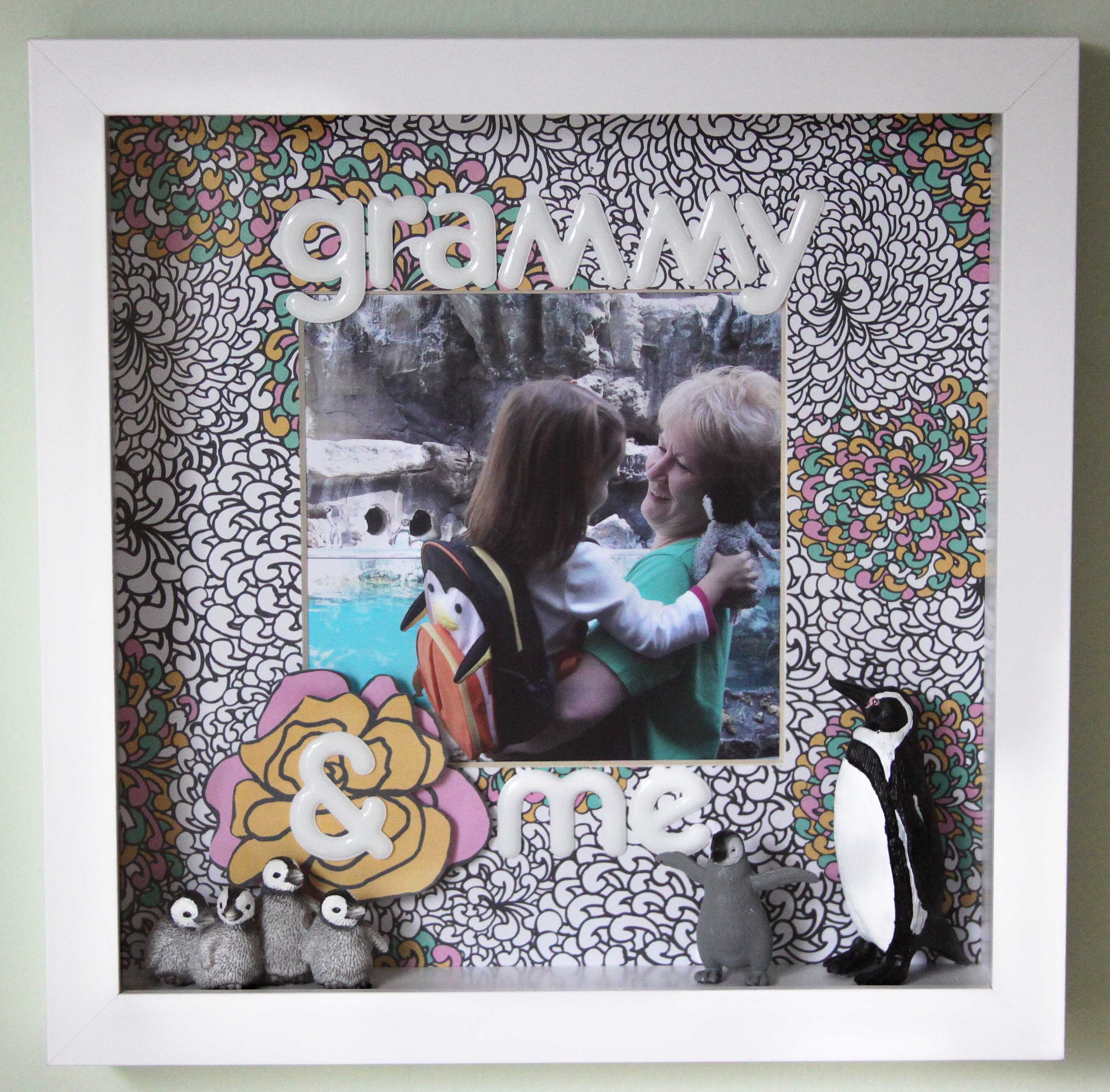 Grammy & Me Scrapbook Frame | Pretty PLZ