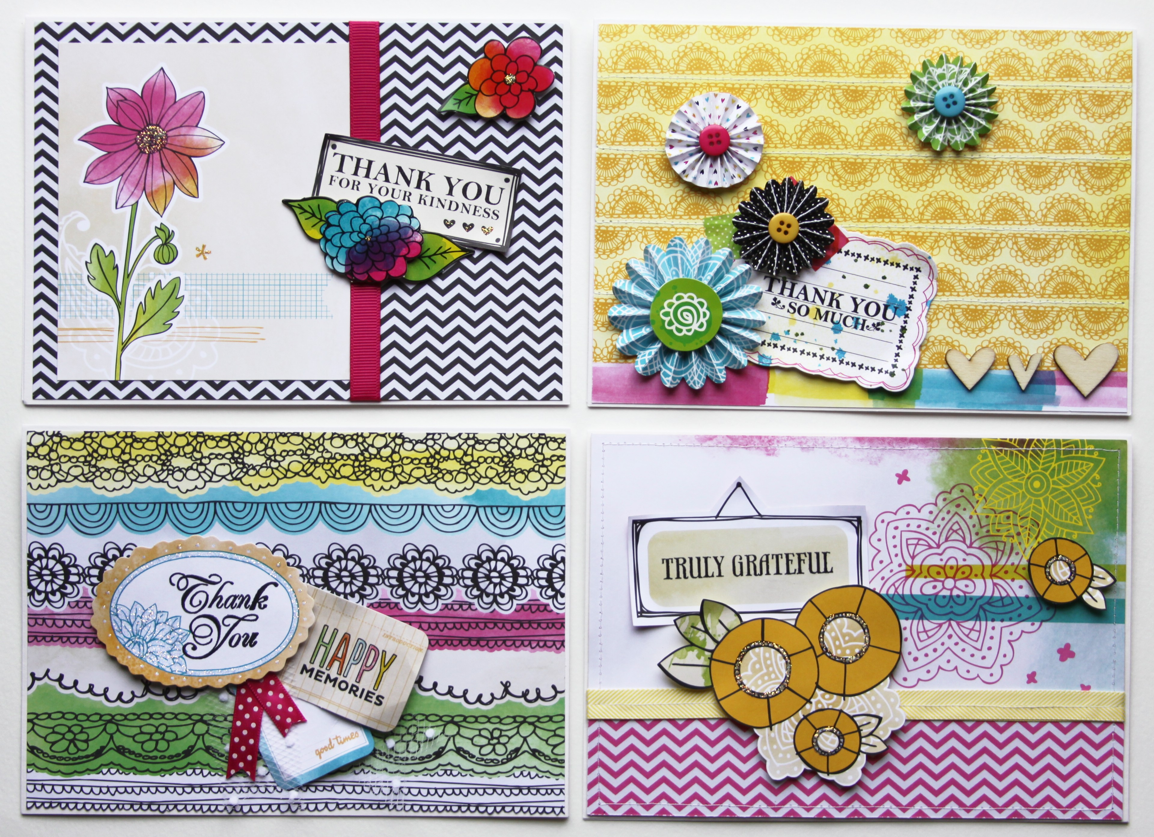 Teacher thank you cards pretty plz for Thank you crafts for teachers