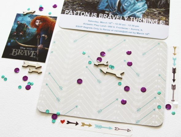 Hello There, You're Invited: Brave-Themed Party Invitations