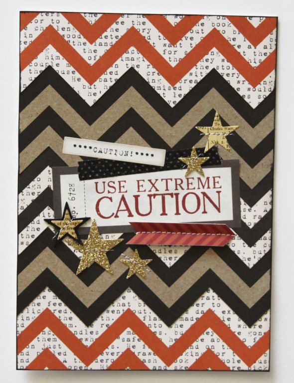 Use Extreme Caution Card