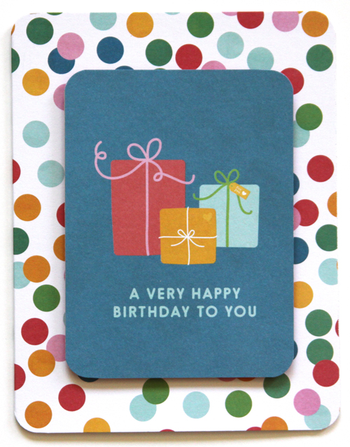 A Very Happy Birthday To You Card