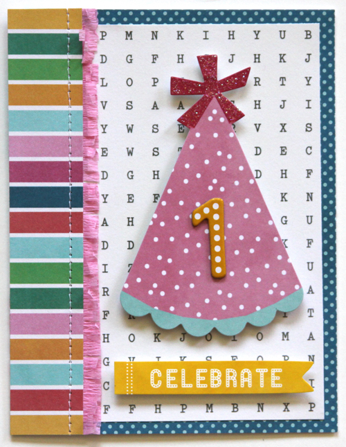 """Celebrate """"1"""" Card"""